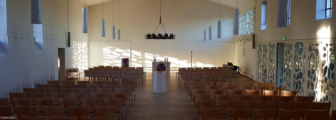 Morgenstimmung in der Christuskirche