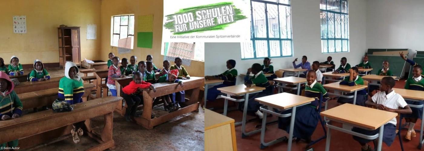 Primary School Sanya Juu, Kilimandscharo, Tansania